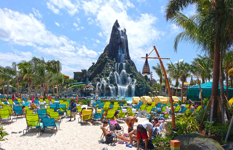 What's New at Disney World in 2017 - Universal's Volcano Bay