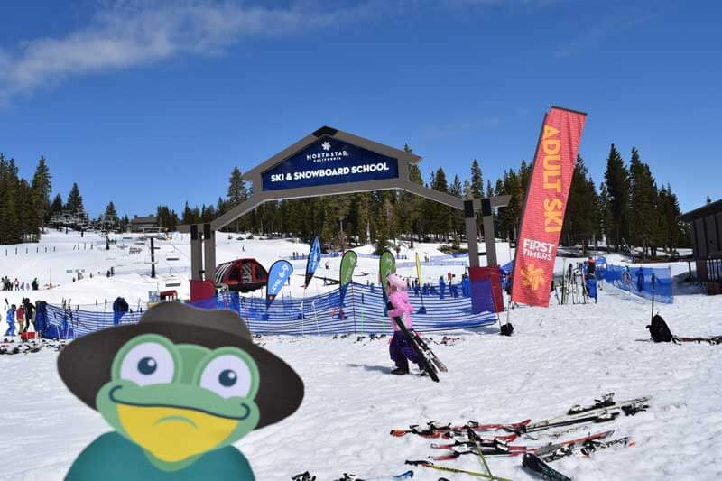 Best Lake Tahoe Ski Resort for Families - Northstar California Ski Resort Ski School