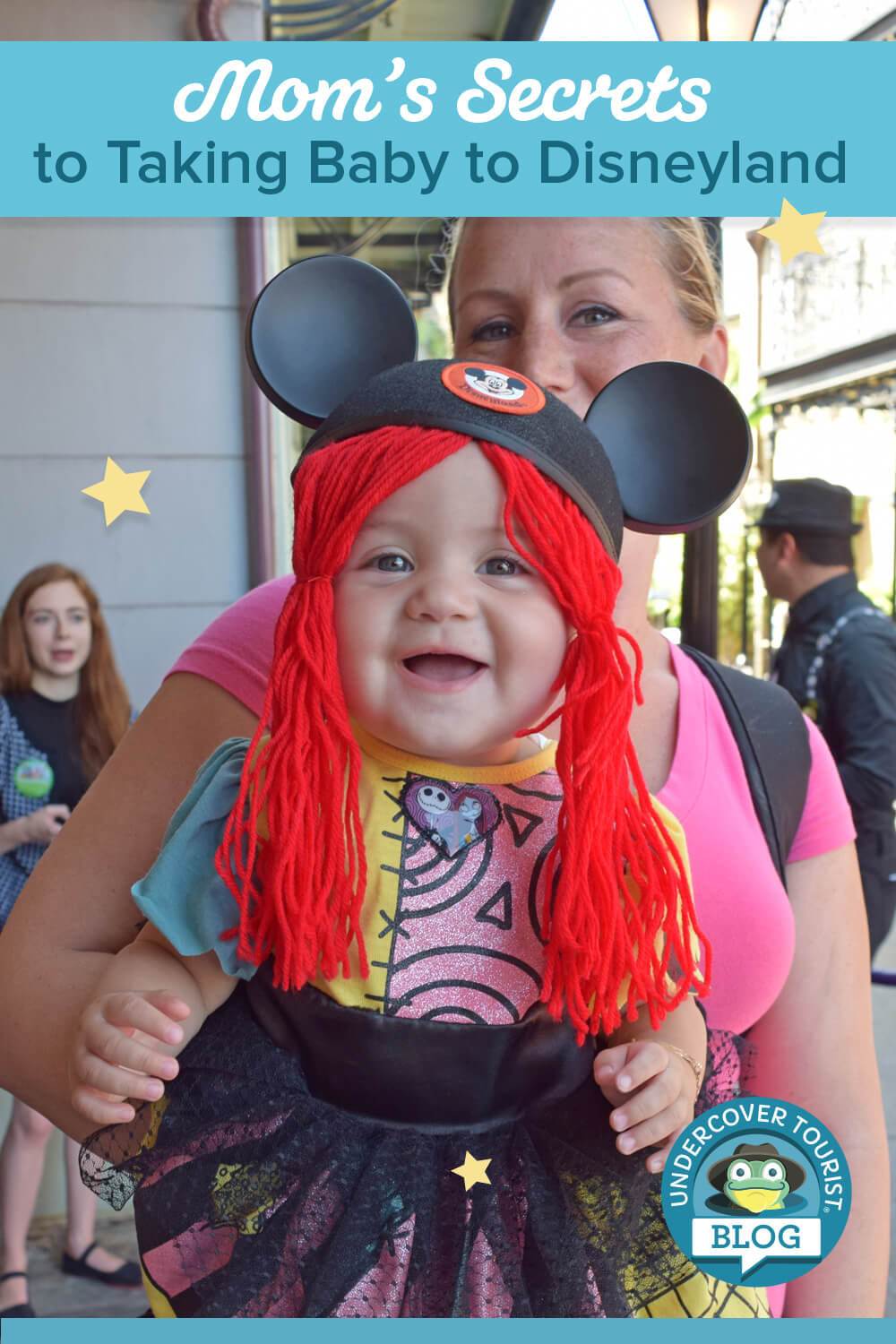 Taking a Baby to Disneyland - Baby as Sally