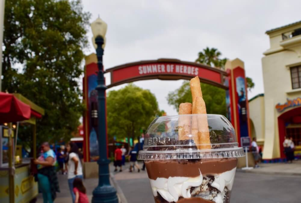 Tips for Summer of Heroes in Disney California Adventure - Angry Pudding Cup