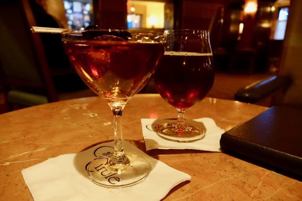 Best Bars and Lounges at Disneyland - Carthay Circle Lounge - Manhattan