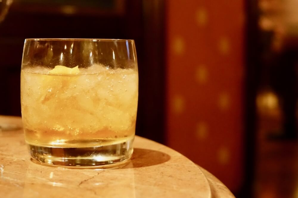 Best Bars and Lounges at Disneyland - Carthay Circle Lounge - Scotch Mist
