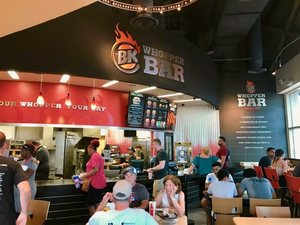 Universal CityWalk Orlando - CityWalk BK Burger Bar