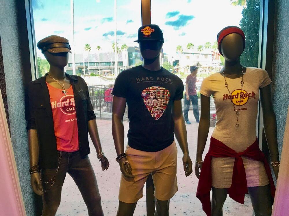 Universal CityWalk Orlando - CityWalk Hard Rock Shop