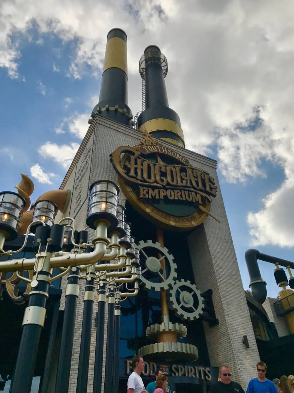Universal CityWalk Restaurants - Toothsome Chocolate Emporium