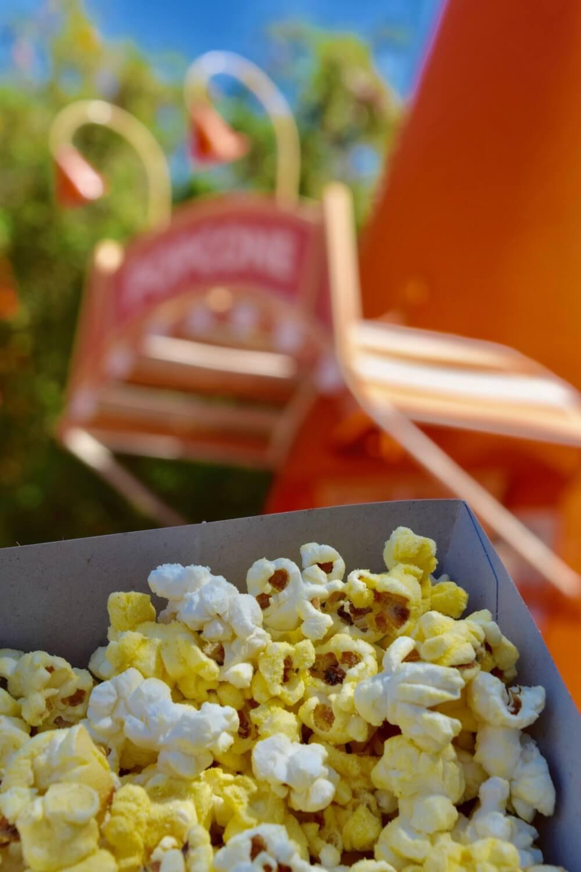 Best Disneyland Snacks - DCA Cars Land Flavored Popcorn