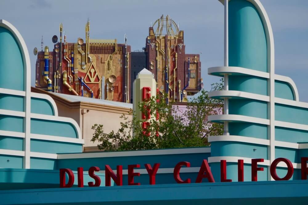 Maximize your time at Disneyland - Disney California Adventure Entrance