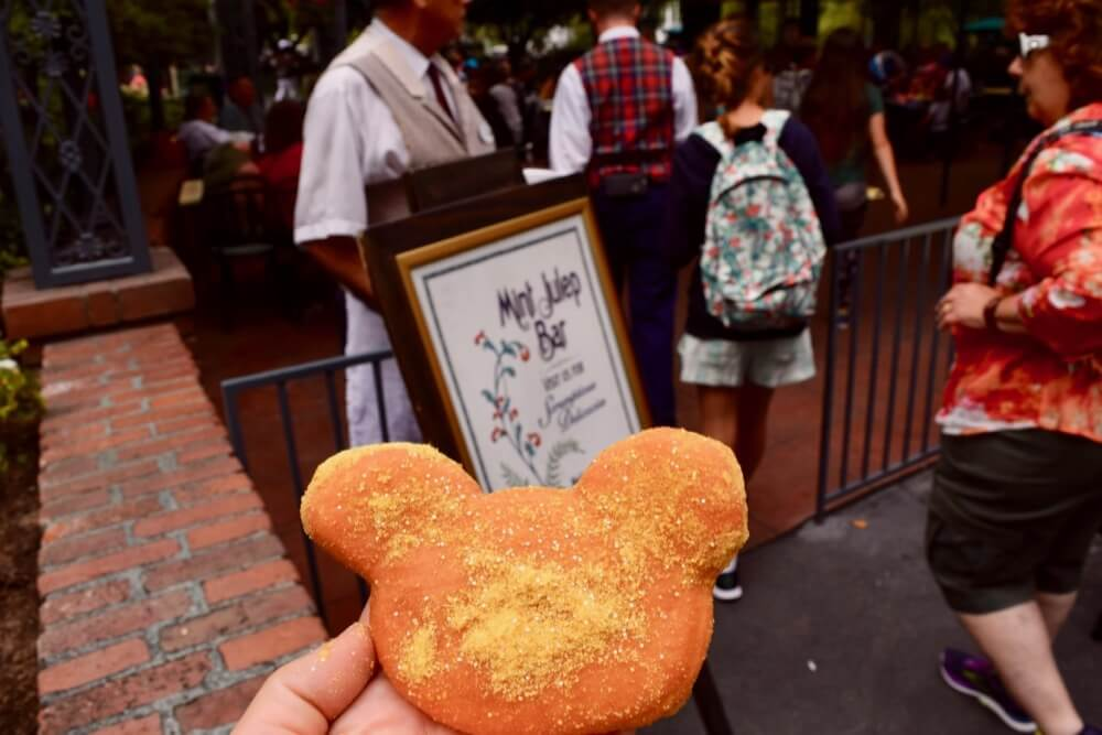 Best Disneyland Snacks - Disneyland Mickey Beignet Gold