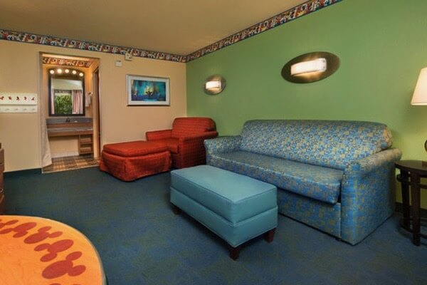 Disney World Value Resort Hotels - Disney's All Star Music Resort Room