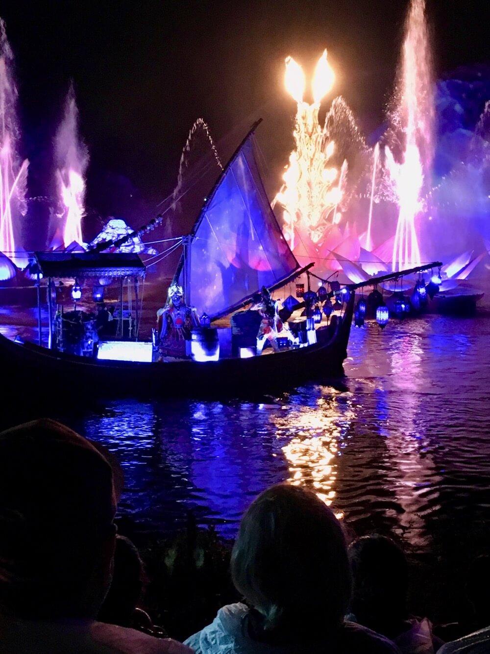 Fourth of July at Disney World - Disney's Animal Kingdom - Rivers of Light