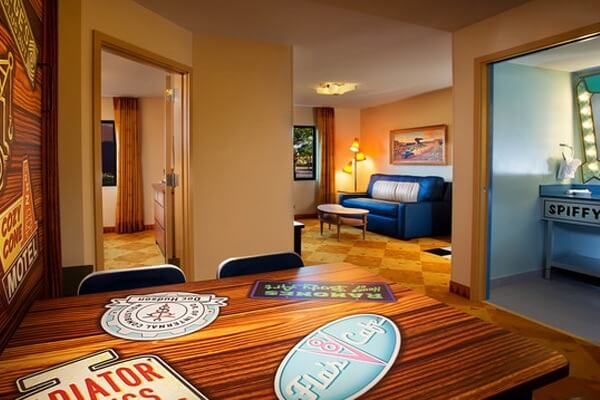 Disney World Value Resort Hotels - Disney's Art of Animation Resort Room