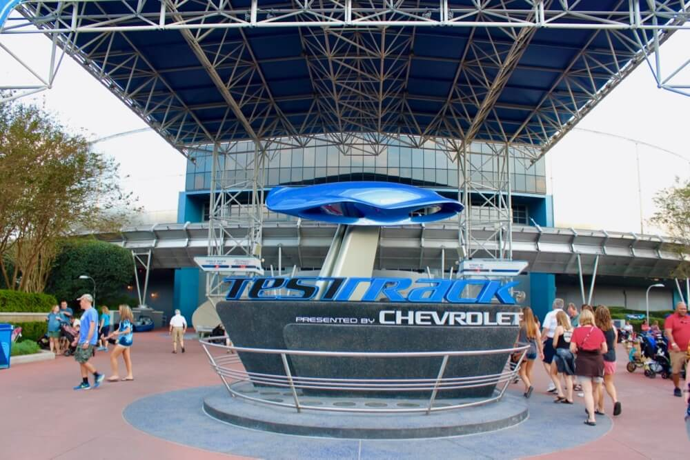 Fort Wilderness at Disney World - Epcot Test Track