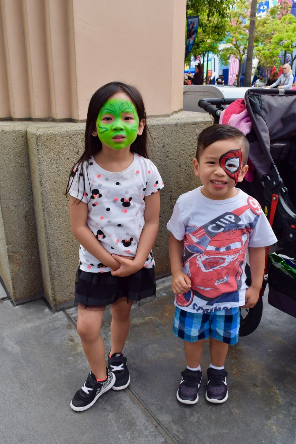 Tips for Summer of Heroes in Disney California Adventure - Face Paiting