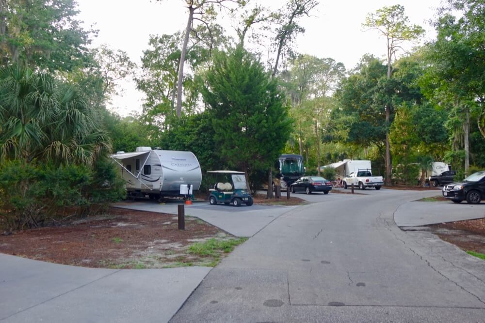 Fort Wilderness at Disney World - Fort Wilderness Campers Loop