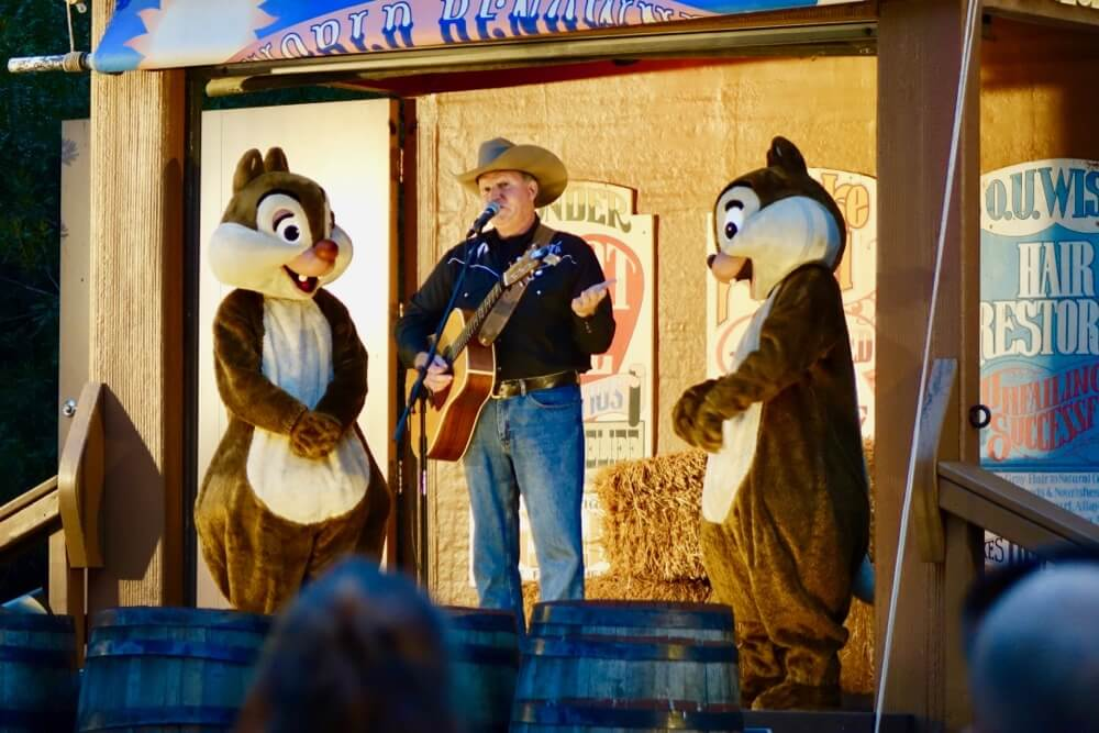 Fort Wilderness at Disney World - Ft. Wilderness Chip n' Dale's Campfire Sing Along