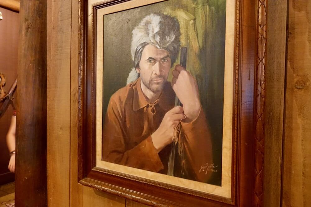 Fort Wilderness at Disney World - Ft. Wilderness Davy Crockett Painting