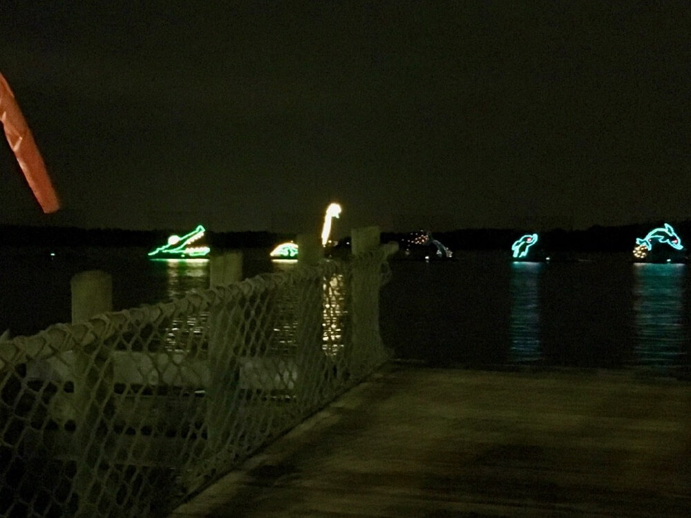 Fort Wilderness at Disney World - Ft. Wilderness Electrical Water Pageant