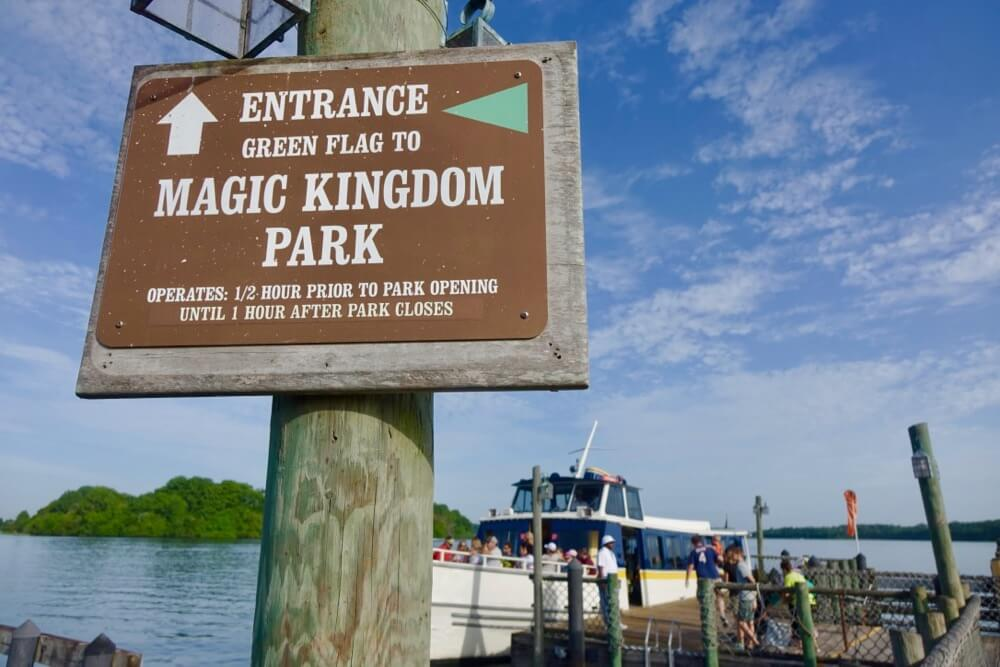 Fort Wilderness at Disney World - Ft Wilderness Magic Kingdom Boat