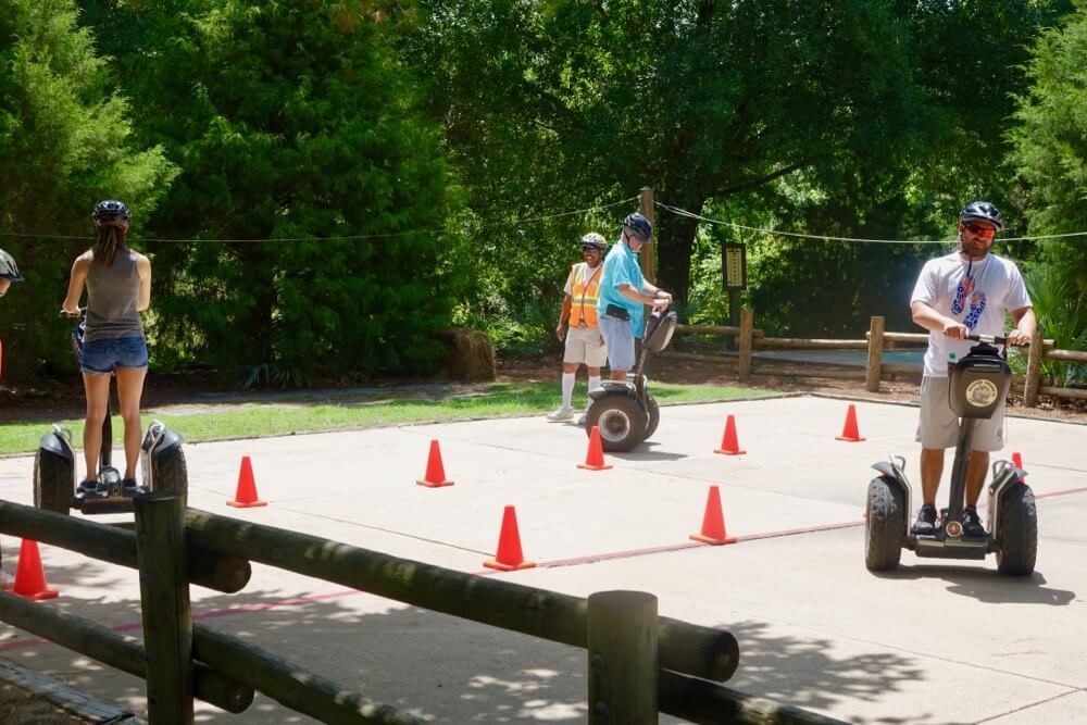 Fort Wilderness at Disney World - Ft. Wilderness Segways