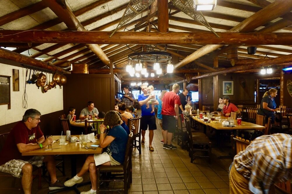 Fort Wilderness at Disney World - Trails End Restaurant Dining Room