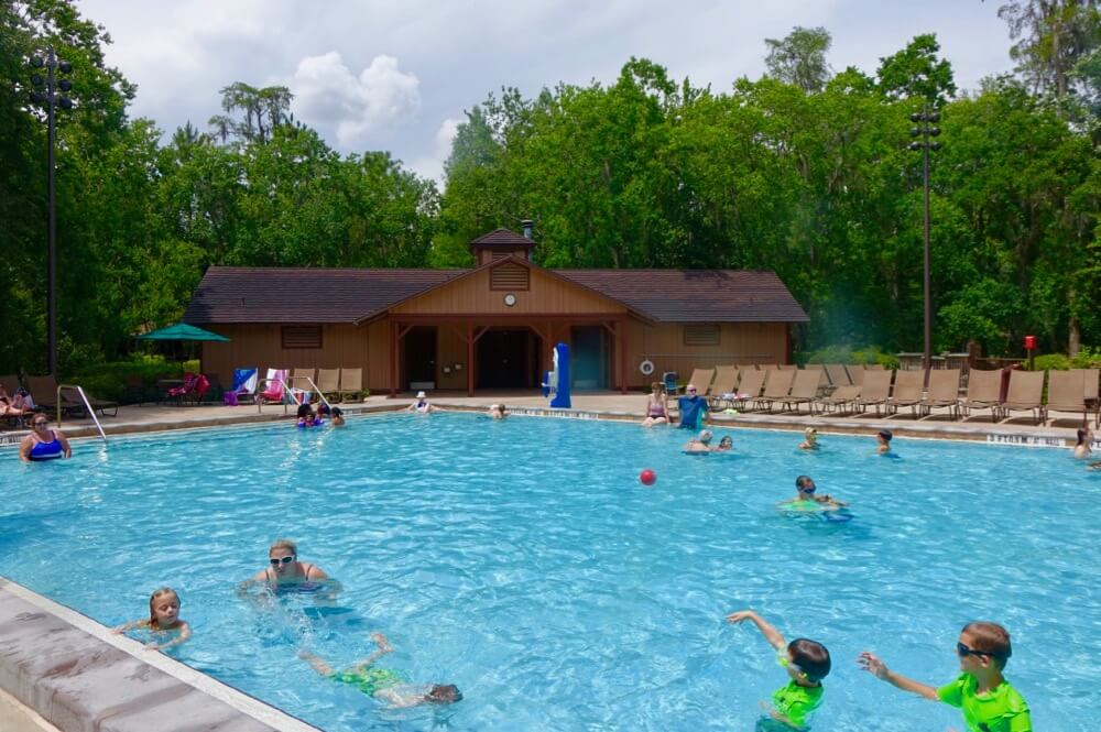 Fort Wilderness at Disney World - Fort Wilderness Wilderness Pool