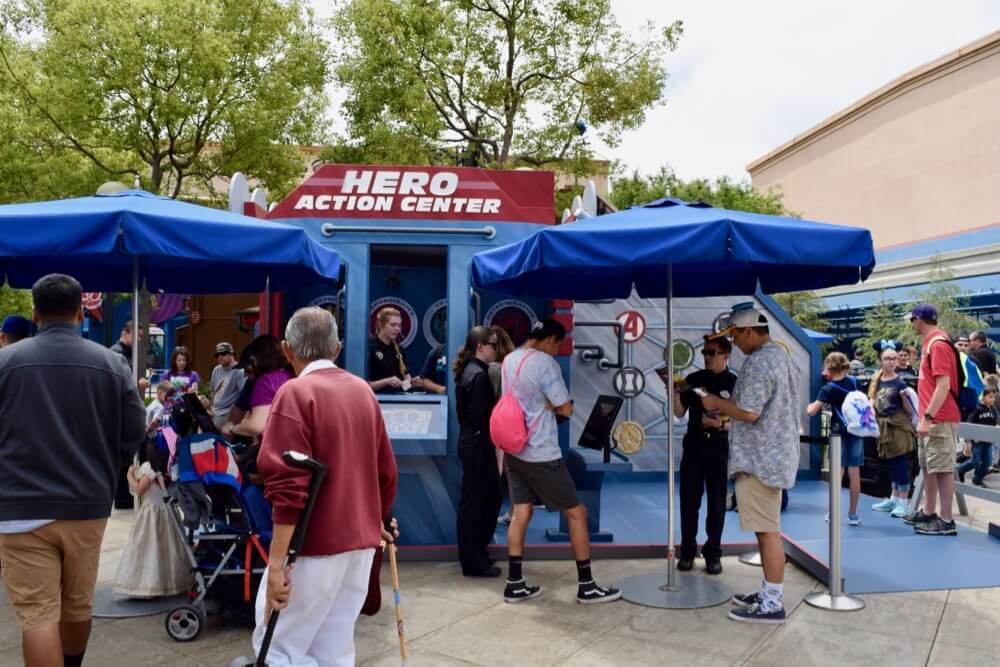 Tips for Summer of Heroes in Disney California Adventure - Hero Action Center