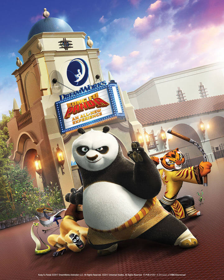 Kung-Fu Panda Show at Universal Studios Hollywood To Debut in 2018