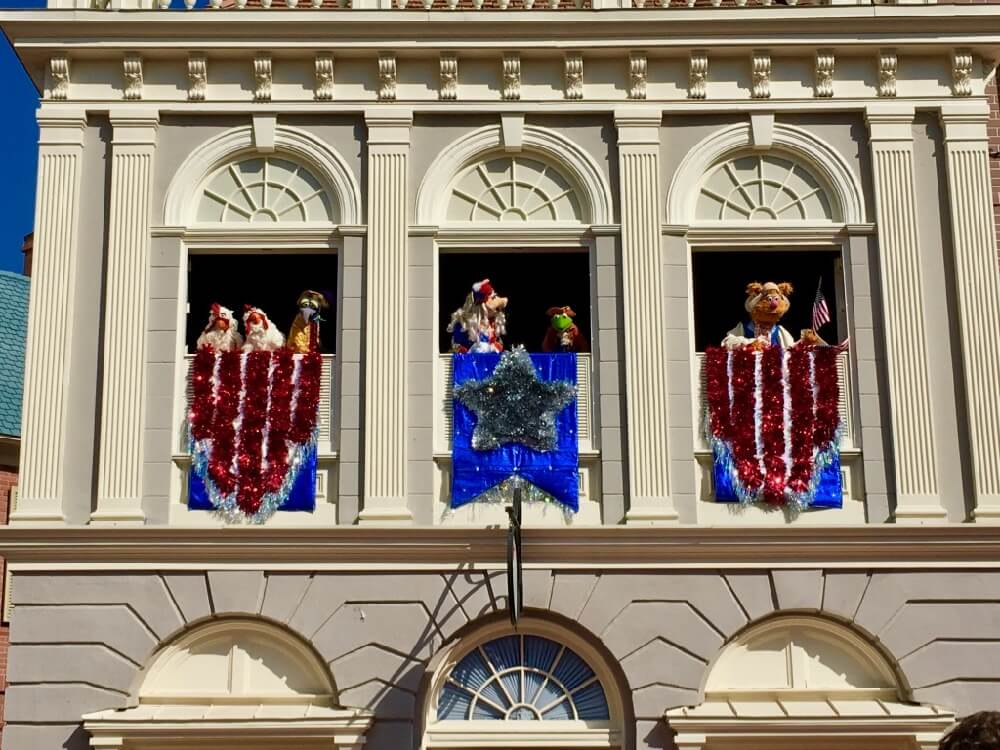 4th of July at Disney World - Muppets History