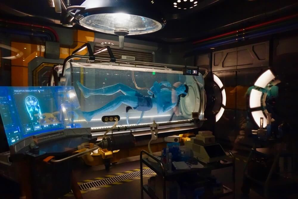 Pandora World Of Avatar - Avatar in Tank