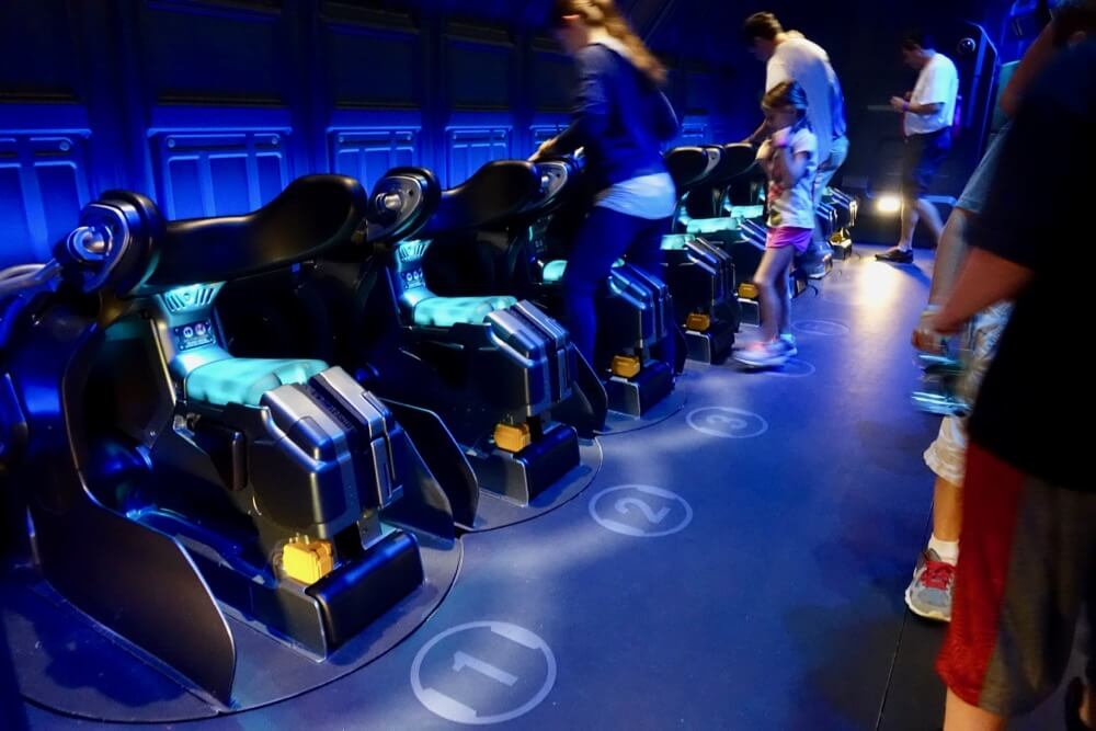Pandora World Of Avatar - Flight of Passage Link Chairs