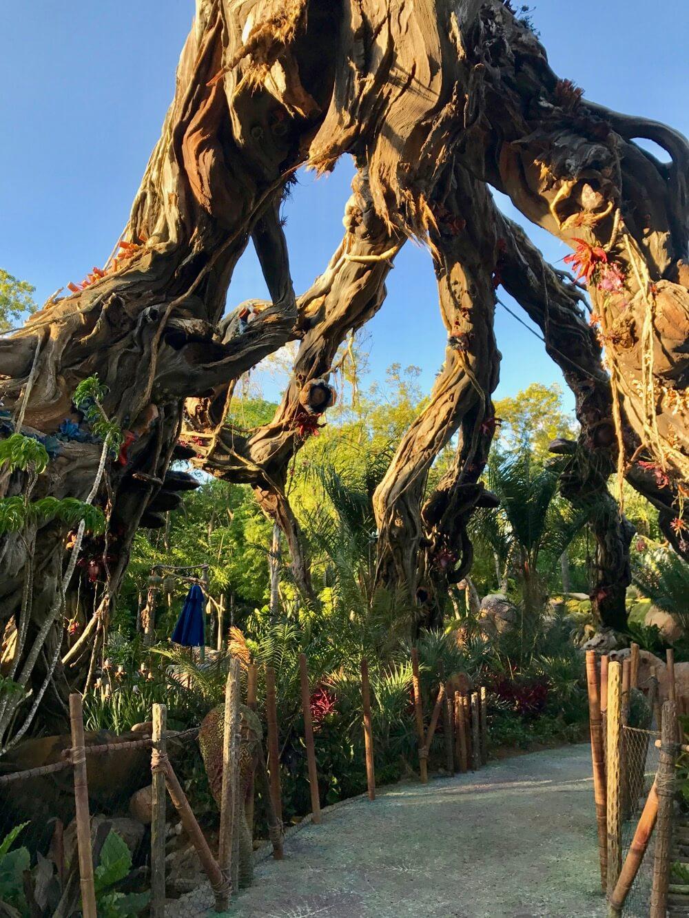 Pandora World of Avatar Fastpass - Bridge in Valley of Mo'ara