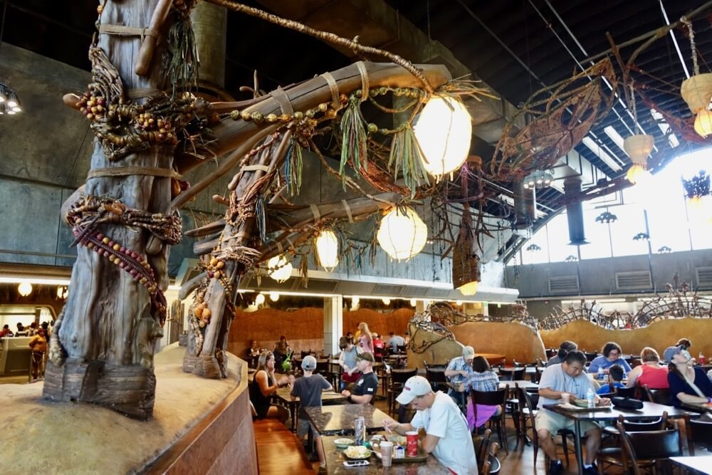 Pandora World Of Avatar - Sati'li Canteen Interior