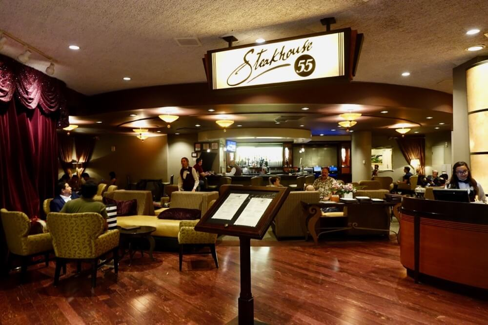 Best Bars and Lounges at Disneyland - Steakhouse 55 Lounge