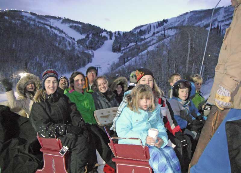Apres-ski with kids - Sleigh Ride