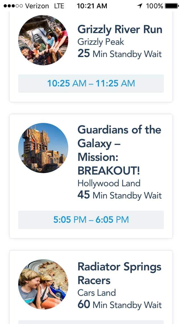 Disney MaxPass - Guardians of the Galaxy MaxPass