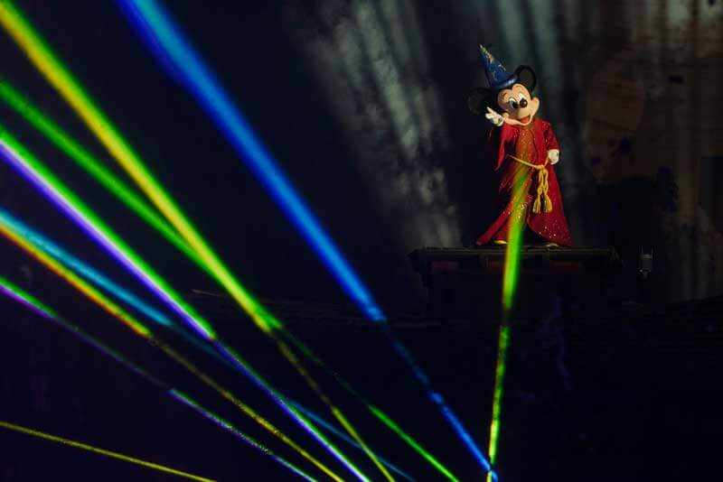 New Disneyland Fantasmic! - Sorcerer Mickey
