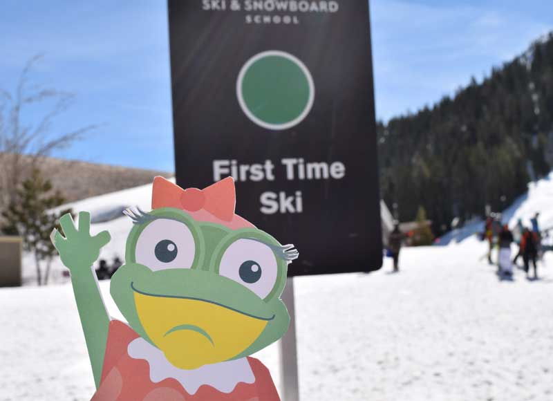 Ski Mom Secrets - Lily at Ski Lessons