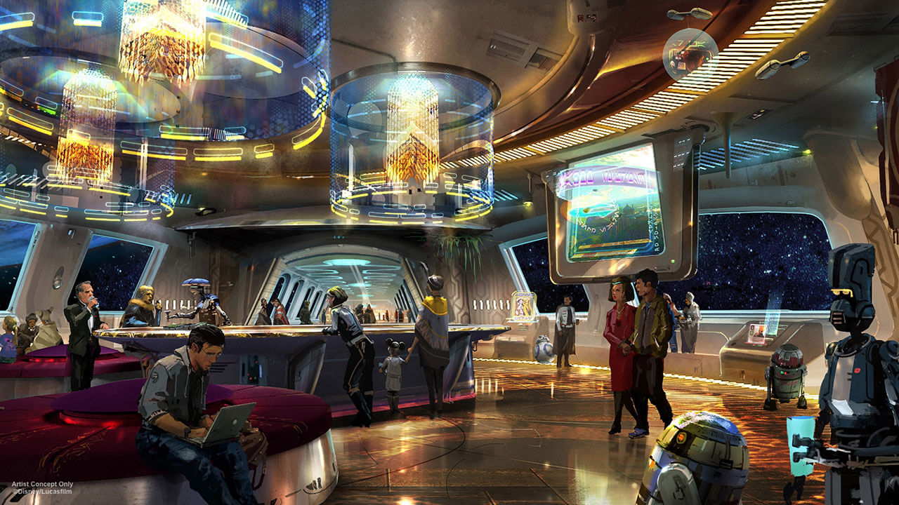 Star Wars Immersive Resort - What's Coming to Disney World and Universal in 2018