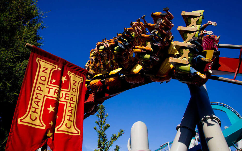 Universal's Dragon Challenge to Close Sept. 5 for Potter Coaster