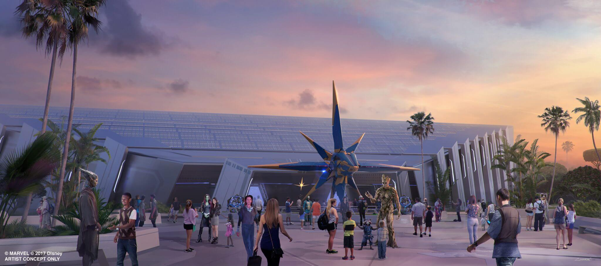 Guardians of the Galaxy - What's Coming to Disney World and Universal in 2018