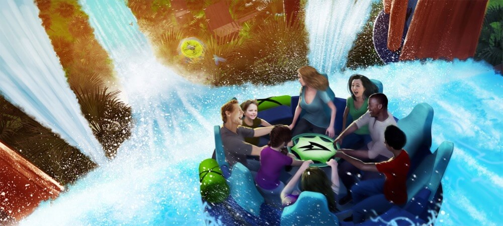 What's Coming to Disney World and Universal in 2018 - SeaWorld Infinity Falls