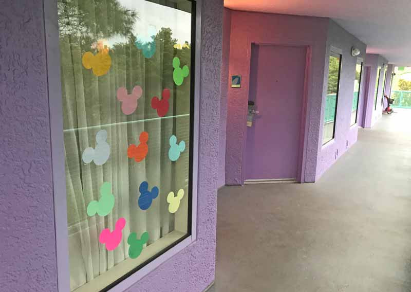 Decorating Your Disney Resort Window - Mickey Ears