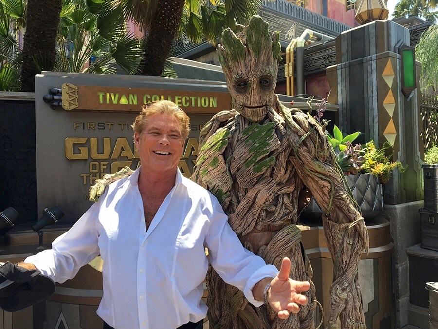 Original Houses at Halloween Horror Nights Orlando - David Hasselhoff at Disney California Adventure