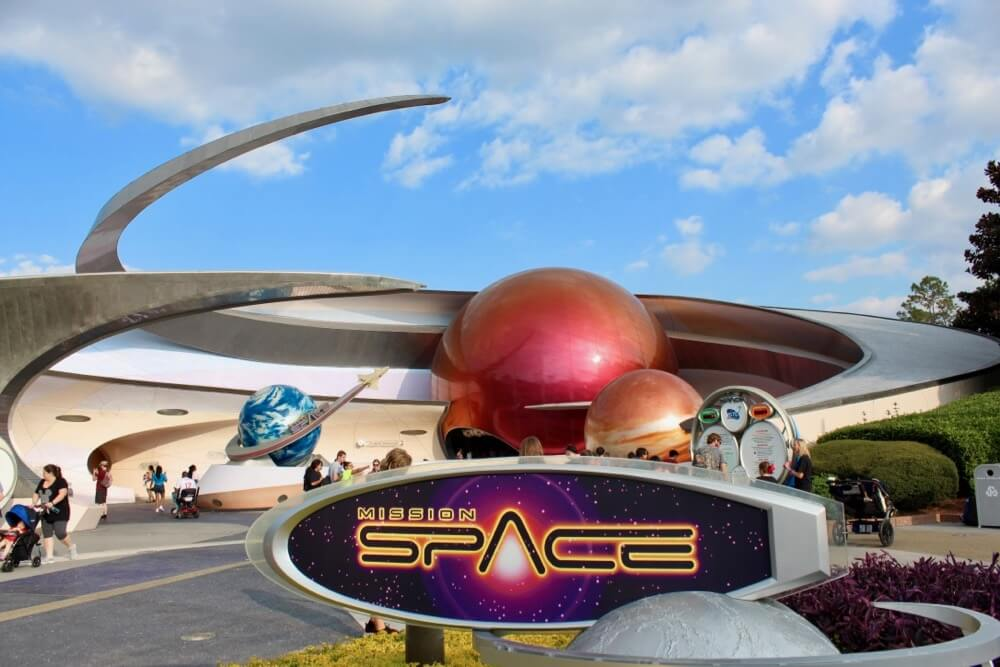 Guide to Disney World Height Requirements - Epcot Mission Space