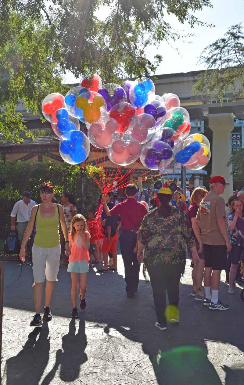 Disneyland's Birthday Celebration - Birthday Balloons
