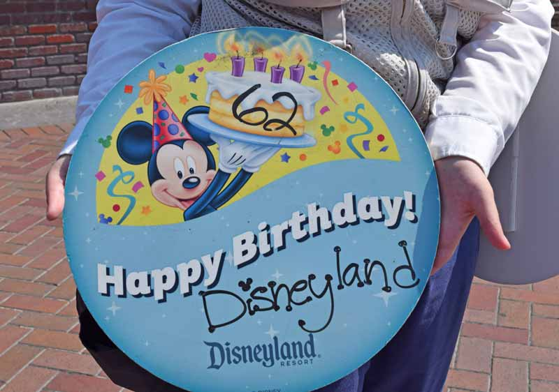 Tips for Celebrating Disneyland's Birthday