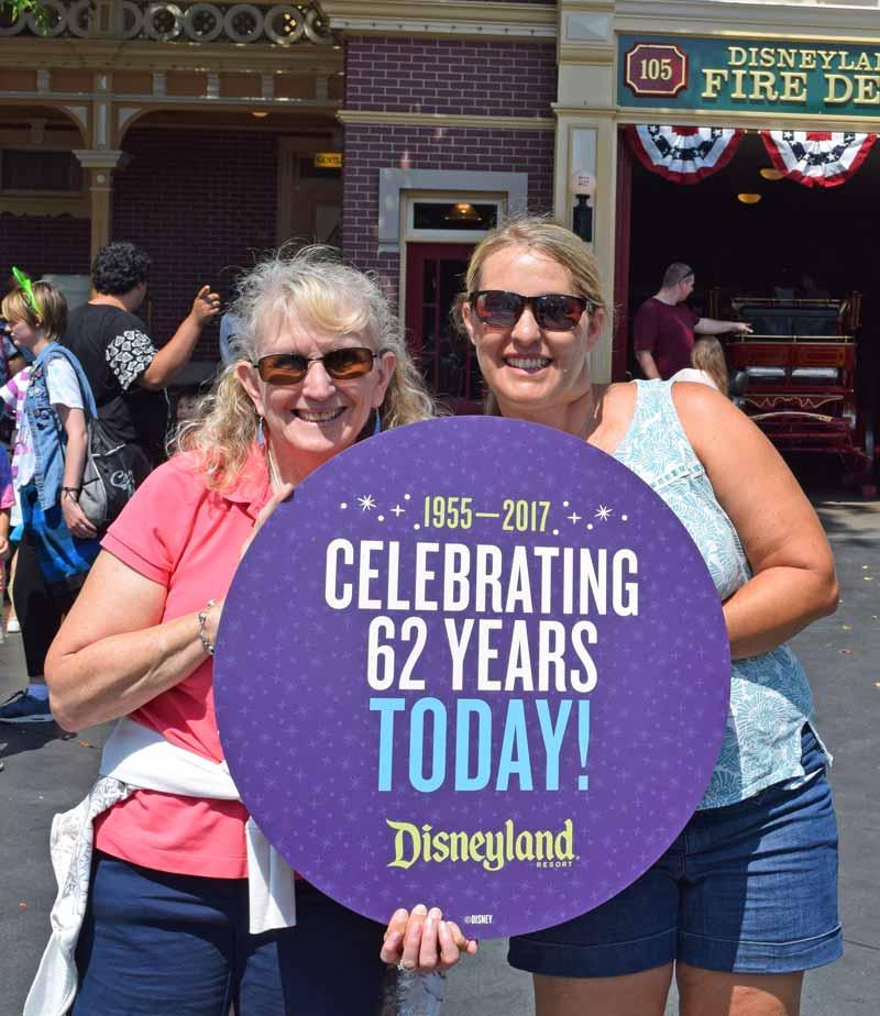 Disneyland's Birthday Celebration - Celebration Photos