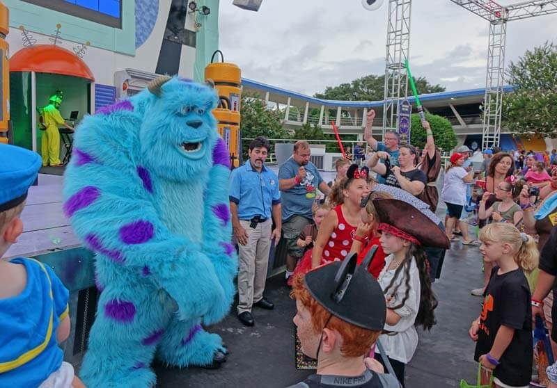 Mickey's Not So Scary Halloween Party 2018 - Sulley