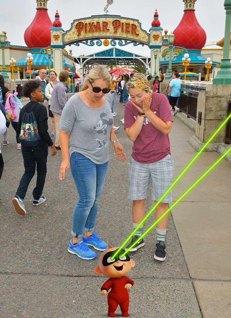 How to Take Disney MaxPass to the Max!-magic shot with Jack Jack