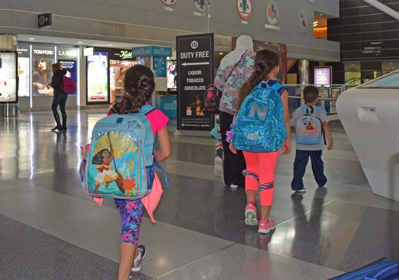 Tips for Flying with Kids - LaGuardia Airport